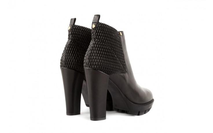 Botki bayla-106 4221004 black, czarny, skóra naturalna - biker - botki - buty damskie - kobieta 3
