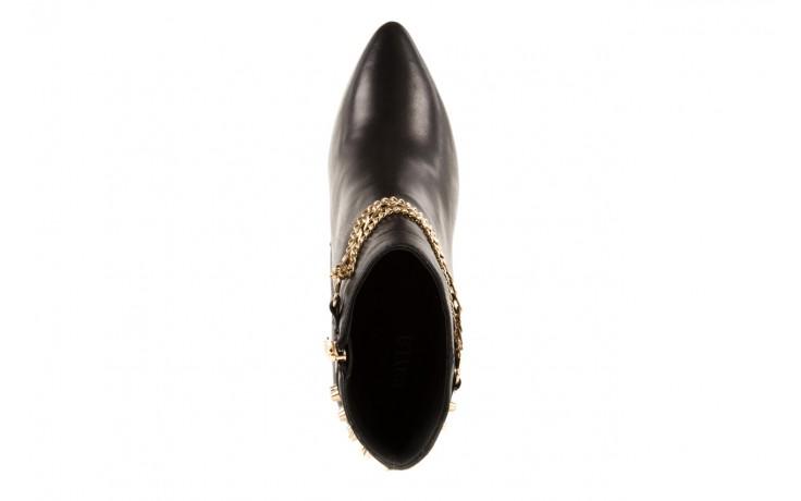 Botki bayla-106 4222004 black, czarny, skóra naturalna - na szpilce - botki - buty damskie - kobieta 4