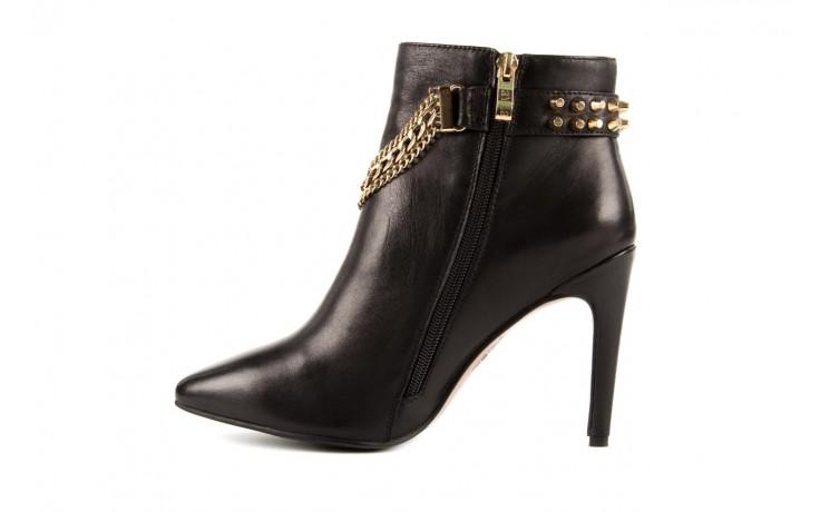 Botki bayla-106 4222004 black, czarny, skóra naturalna - na szpilce - botki - buty damskie - kobieta 2
