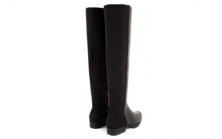 Kozaki bayla-106 4225009 black, czarny, skóra naturalna/materiał - za kolano / muszkieterki - kozaki - buty damskie - kobieta 3