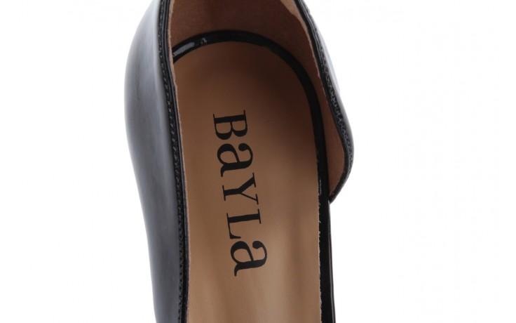 Szpilki bayla-109 859001 varnish black, czarny, skóra ekologiczna - bayla - nasze marki 6