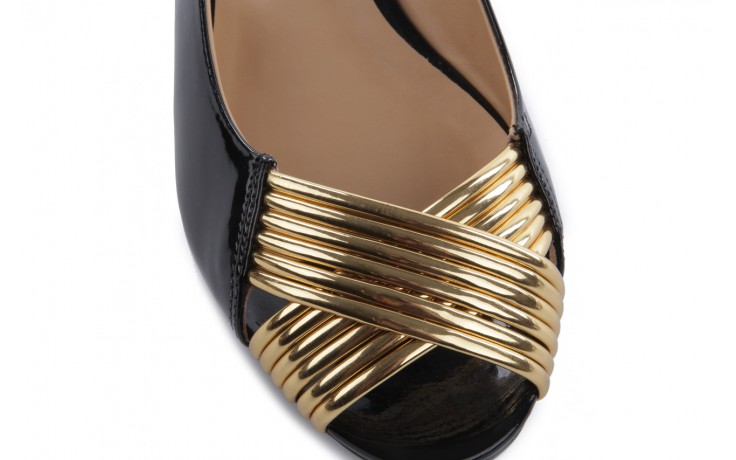 Bayla-109 869006 varnish black laminated gold - bayla - nasze marki 5