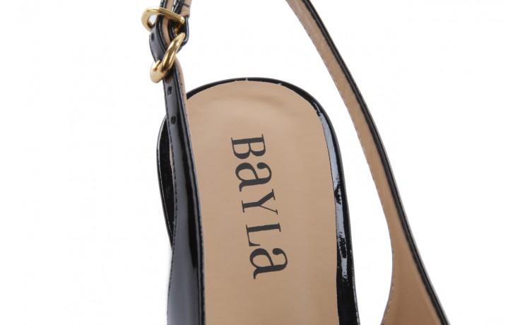 Bayla-109 869006 varnish black laminated gold - bayla - nasze marki 6