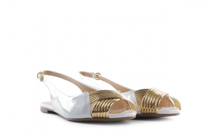Bayla-109 869006 varnish white laminated gold - bayla - nasze marki 1