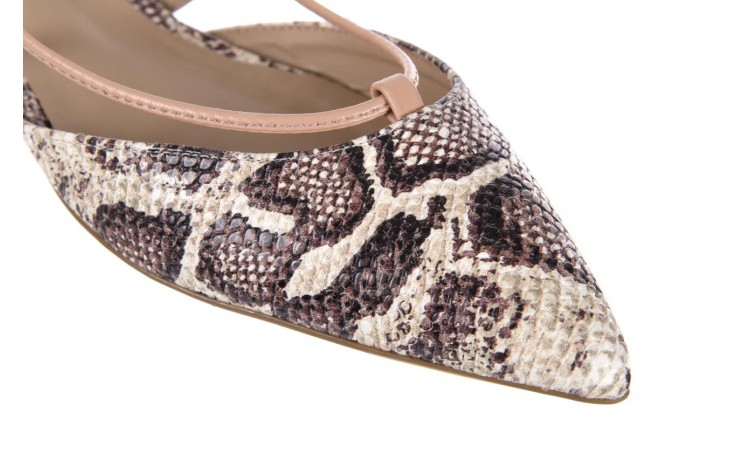 Sandały bayla-109 908008 s. ivory napa castor, beż/brąz, skóra ekologiczna - bayla - nasze marki 5