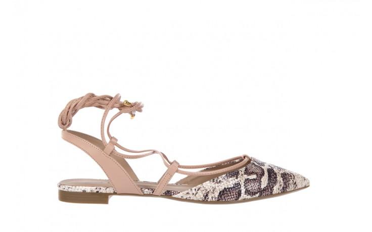Sandały bayla-109 908008 s. ivory napa castor, beż/brąz, skóra ekologiczna - bayla - nasze marki
