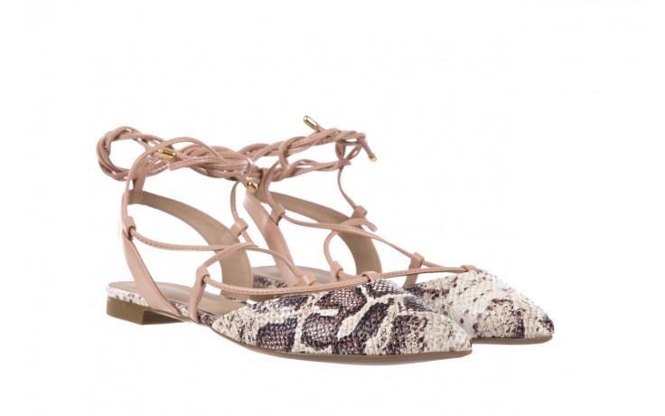 Sandały bayla-109 908008 s. ivory napa castor, beż/brąz, skóra ekologiczna - bayla - nasze marki 1