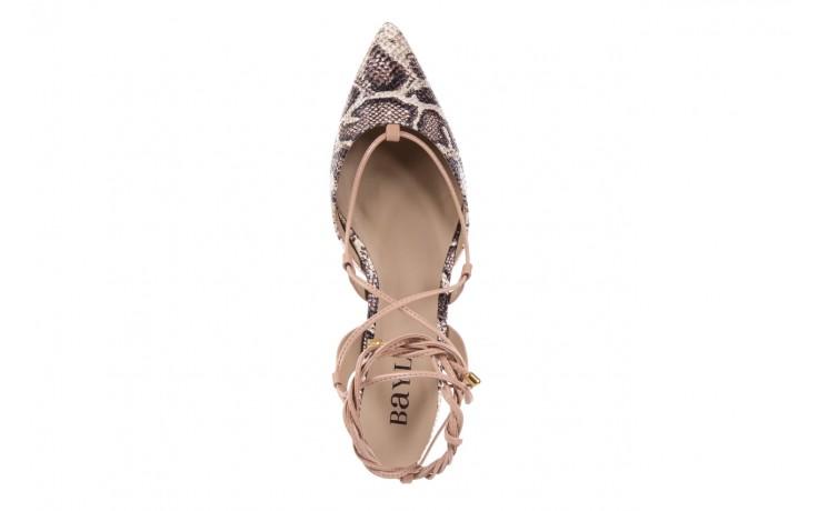 Sandały bayla-109 908008 s. ivory napa castor, beż/brąz, skóra ekologiczna - bayla - nasze marki 4