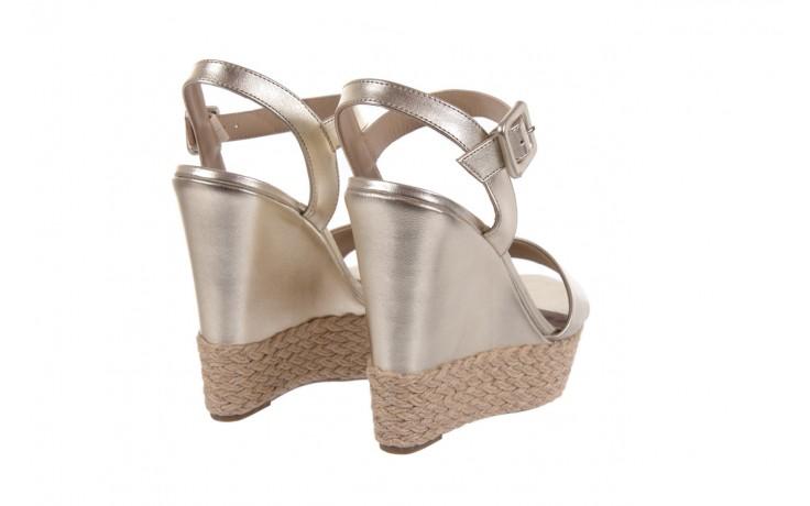 Sandały bayla-109 911001 np met gold rope nat, beż, skóra ekologiczna - bayla - nasze marki 3
