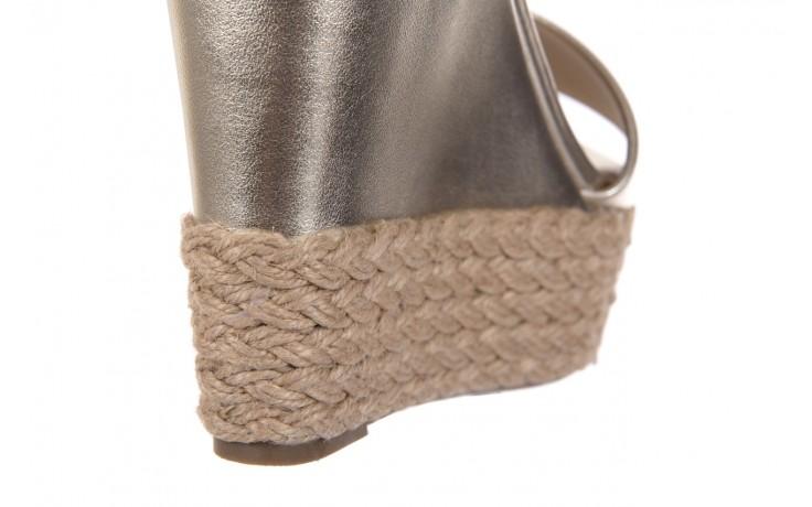 Sandały bayla-109 911001 np met gold rope nat, beż, skóra ekologiczna - bayla - nasze marki 5
