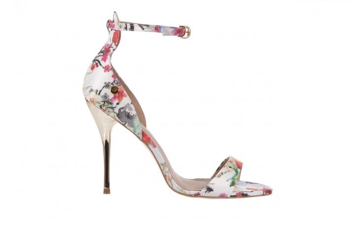 Sandały bayla-109 914002 satin flora, wielkolorowy, materiał - bayla - nasze marki