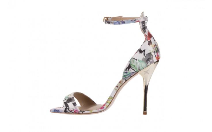 Sandały bayla-109 914002 satin flora, wielkolorowy, materiał - bayla - nasze marki 2