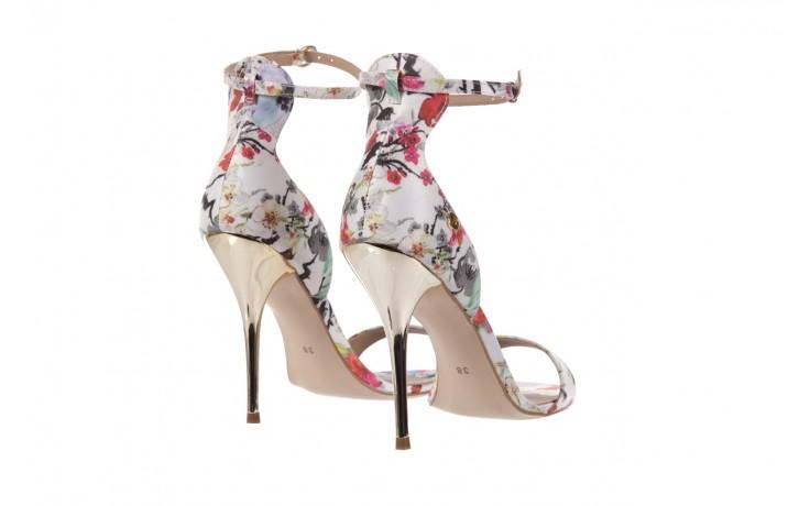 Sandały bayla-109 914002 satin flora, wielkolorowy, materiał - bayla - nasze marki 3