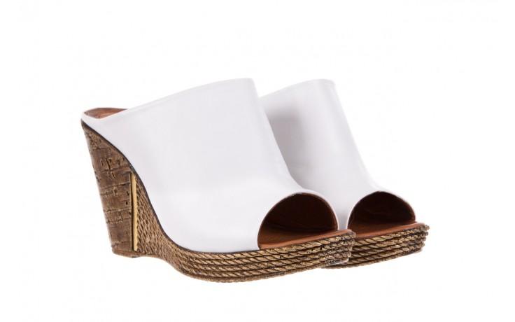 Klapki bayla-112 270-88 by beyaz - white 16, biały, skóra naturalna - bayla - nasze marki 1