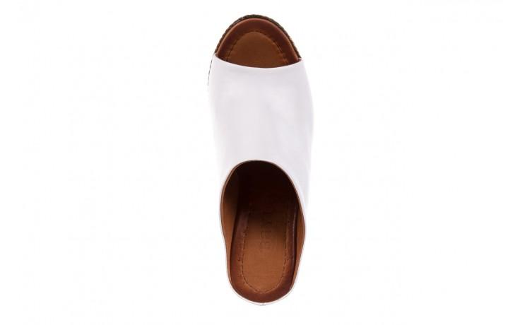 Klapki bayla-112 270-88 by beyaz - white 16, biały, skóra naturalna - bayla - nasze marki 4