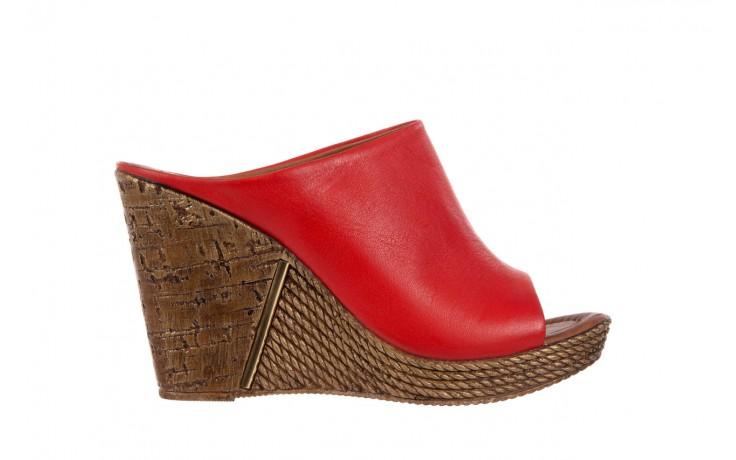 Klapki bayla-112 270-88 by kirmizi, czerwony, skóra naturalna  - bayla - nasze marki