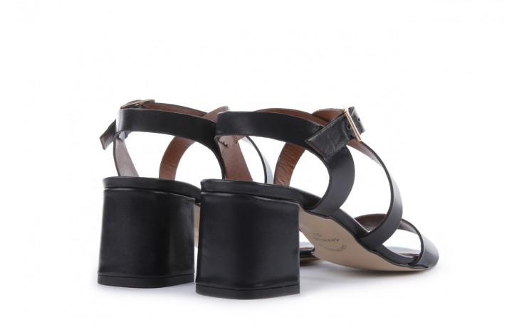 Sandały bayla-114 1310 nero, czarny, skóra naturalna - bayla - nasze marki 3