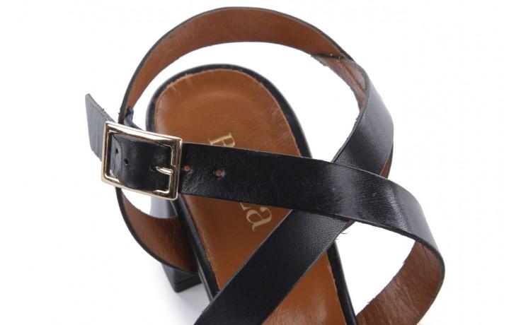 Sandały bayla-114 1310 nero, czarny, skóra naturalna - bayla - nasze marki 5