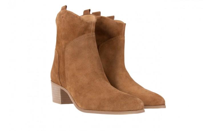 Botki bayla-118 3001 crosta cuoio, brąz, skóra naturalna  - kowbojki / boho - botki - buty damskie - kobieta 1