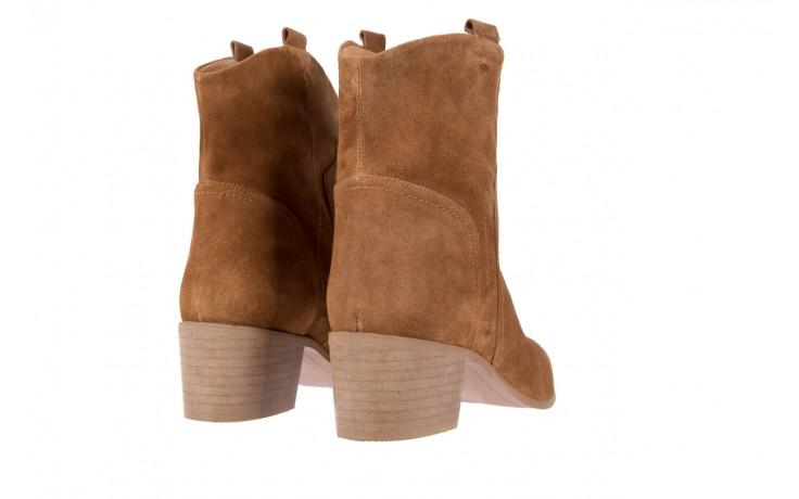 Botki bayla-118 3001 crosta cuoio, brąz, skóra naturalna  - kowbojki / boho - botki - buty damskie - kobieta 3