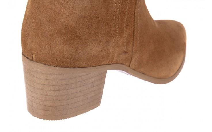Botki bayla-118 3001 crosta cuoio, brąz, skóra naturalna  - kowbojki / boho - botki - buty damskie - kobieta 4