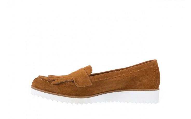 Mokasyny bayla-118 3076 crosta cuoio, brąz, skóra naturalna  - zamszowe - półbuty - buty damskie - kobieta 2