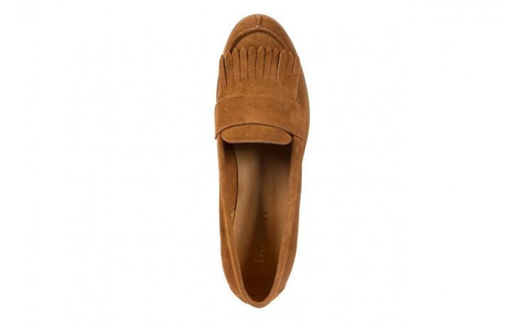 Mokasyny bayla-118 3076 crosta cuoio, brąz, skóra naturalna  - zamszowe - półbuty - buty damskie - kobieta 4