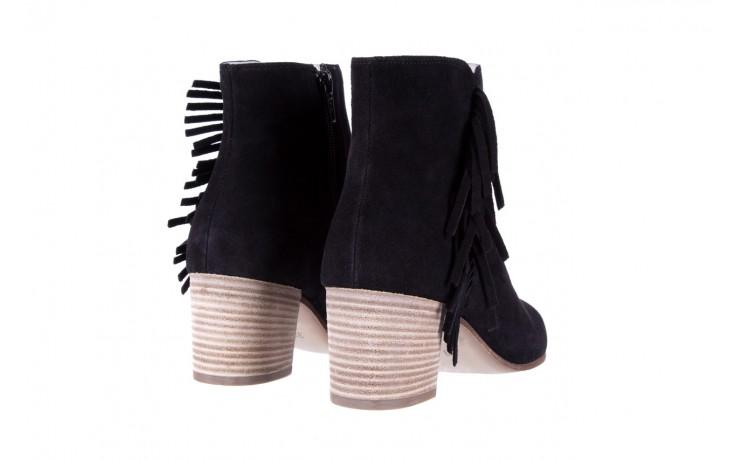 Botki bayla-118 3113 crosta nero, czarny, skóra naturalna  - kowbojki / boho - botki - buty damskie - kobieta 4