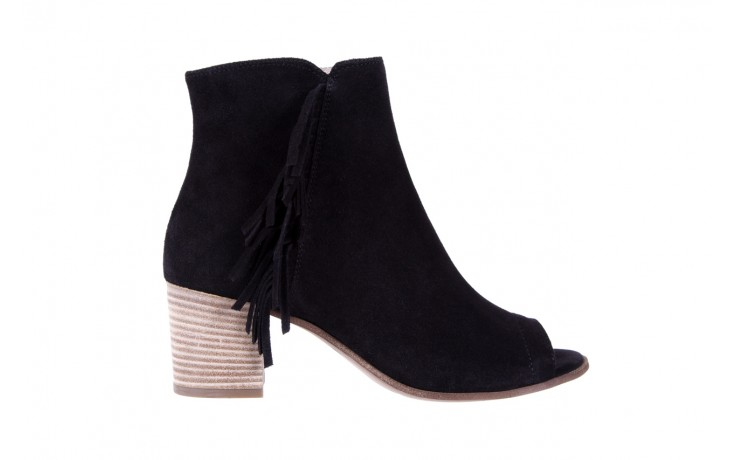 Botki bayla-118 3113 crosta nero, czarny, skóra naturalna  - kowbojki / boho - botki - buty damskie - kobieta