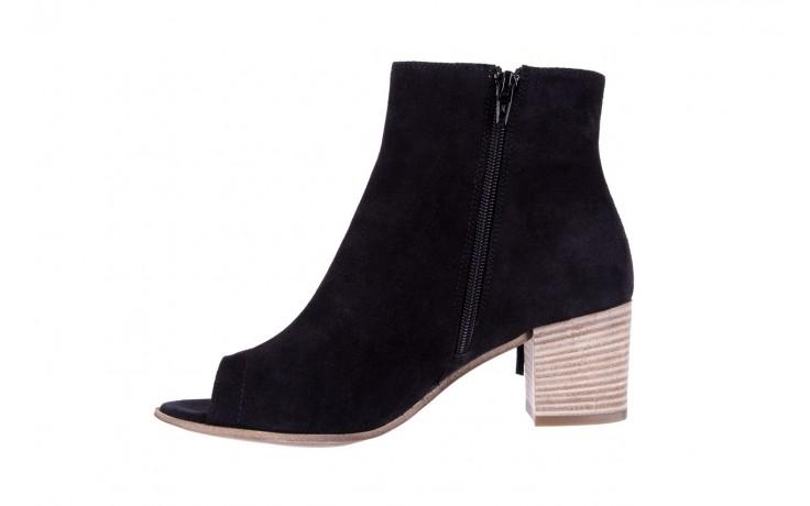 Botki bayla-118 3113 crosta nero, czarny, skóra naturalna  - kowbojki / boho - botki - buty damskie - kobieta 3