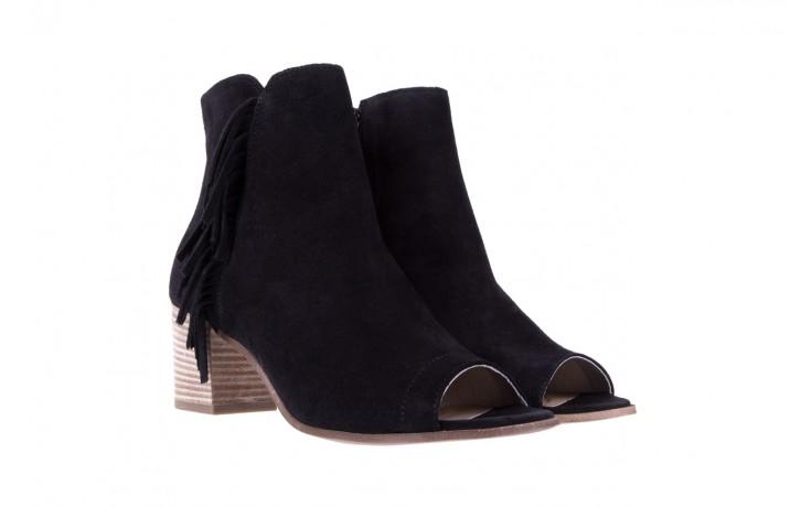 Botki bayla-118 3113 crosta nero, czarny, skóra naturalna  - kowbojki / boho - botki - buty damskie - kobieta 1