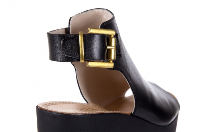 Sandały bayla-118 5056 flag nero, czarny, skóra naturalna  - bayla - nasze marki 5