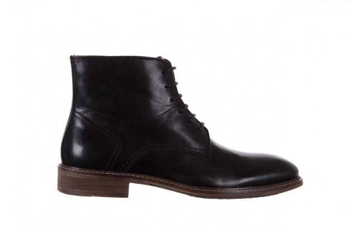 Trzewiki bayla-122 at1315-4 black, czarny, skóra naturalna  - trzewiki - buty męskie - mężczyzna