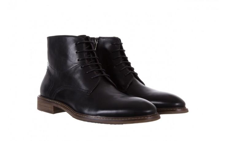 Trzewiki bayla-122 at1315-4 black, czarny, skóra naturalna  - trzewiki - buty męskie - mężczyzna 1