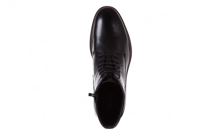 Trzewiki bayla-122 at1315-4 black, czarny, skóra naturalna  - trzewiki - buty męskie - mężczyzna 4