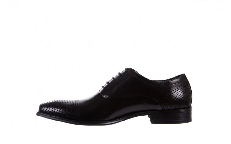 Półbuty bayla-122 at1328-1 black, czarny, skóra naturalna  - obuwie wizytowe - buty męskie - mężczyzna 2