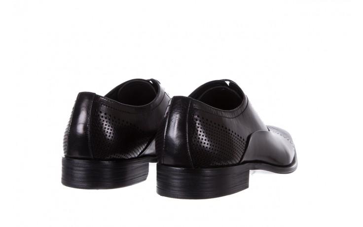 Półbuty bayla-122 at1328-1 black, czarny, skóra naturalna  - obuwie wizytowe - buty męskie - mężczyzna 3