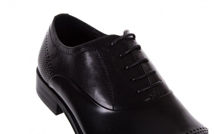 Półbuty bayla-122 at1328-1 black, czarny, skóra naturalna  - obuwie wizytowe - buty męskie - mężczyzna 5