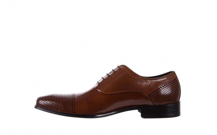 Półbuty bayla-122 at1328-1 brown, brąz, skóra naturalna  - obuwie wizytowe - buty męskie - mężczyzna 2