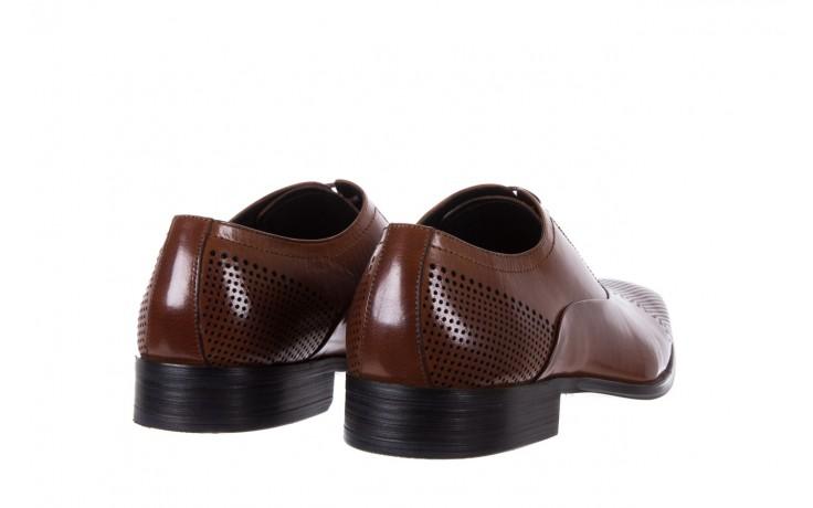 Półbuty bayla-122 at1328-1 brown, brąz, skóra naturalna  - obuwie wizytowe - buty męskie - mężczyzna 3