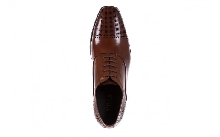 Półbuty bayla-122 at1328-1 brown, brąz, skóra naturalna  - obuwie wizytowe - buty męskie - mężczyzna 4