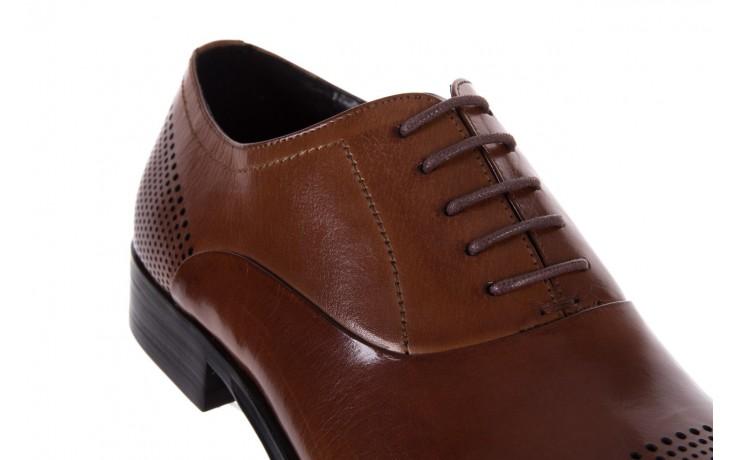 Półbuty bayla-122 at1328-1 brown, brąz, skóra naturalna  - obuwie wizytowe - buty męskie - mężczyzna 5