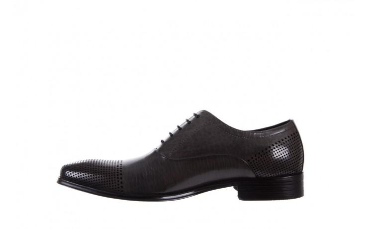 Półbuty bayla-122 at1328-1 grey, szary, skóra naturalna  - obuwie wizytowe - buty męskie - mężczyzna 2