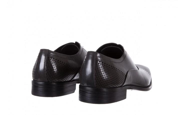 Półbuty bayla-122 at1328-1 grey, szary, skóra naturalna  - obuwie wizytowe - buty męskie - mężczyzna 3