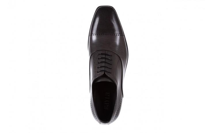 Półbuty bayla-122 at1328-1 grey, szary, skóra naturalna  - obuwie wizytowe - buty męskie - mężczyzna 4