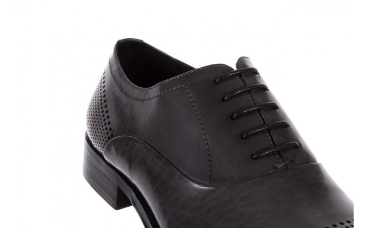 Półbuty bayla-122 at1328-1 grey, szary, skóra naturalna  - obuwie wizytowe - buty męskie - mężczyzna 5