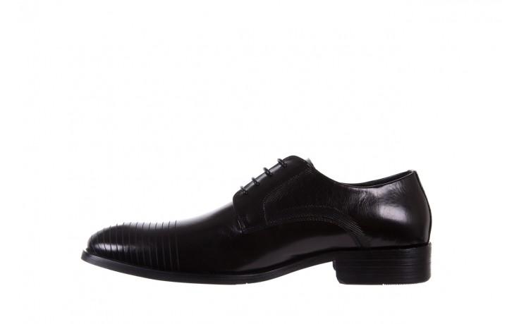 Półbuty bayla-122 at1329-1 black, czarny, skóra naturalna  - obuwie wizytowe - buty męskie - mężczyzna 2