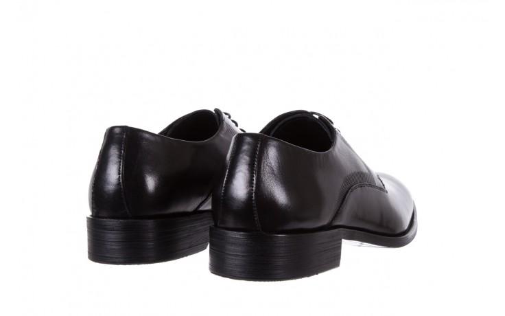 Półbuty bayla-122 at1329-1 black, czarny, skóra naturalna  - obuwie wizytowe - buty męskie - mężczyzna 3