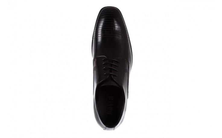 Półbuty bayla-122 at1329-1 black, czarny, skóra naturalna  - obuwie wizytowe - buty męskie - mężczyzna 4