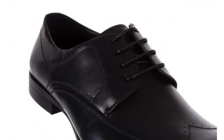 Półbuty bayla-122 at1350-1 black, czarny, skóra naturalna  - trendy - mężczyzna 5